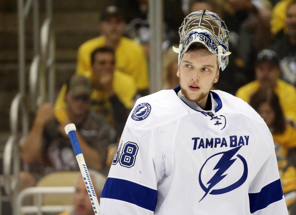 Tampa Bay Sends Eddie Pasquale Back To AHL As Andrei Vasilevskiy Nears Return