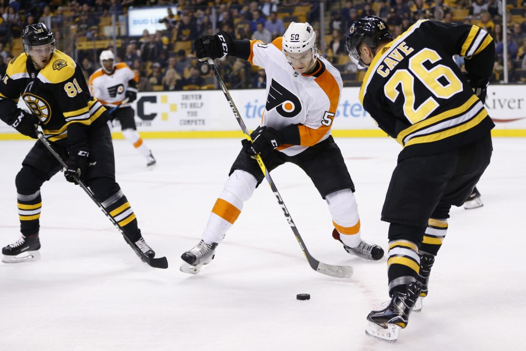 Bruins Re-Sign Colby Cave