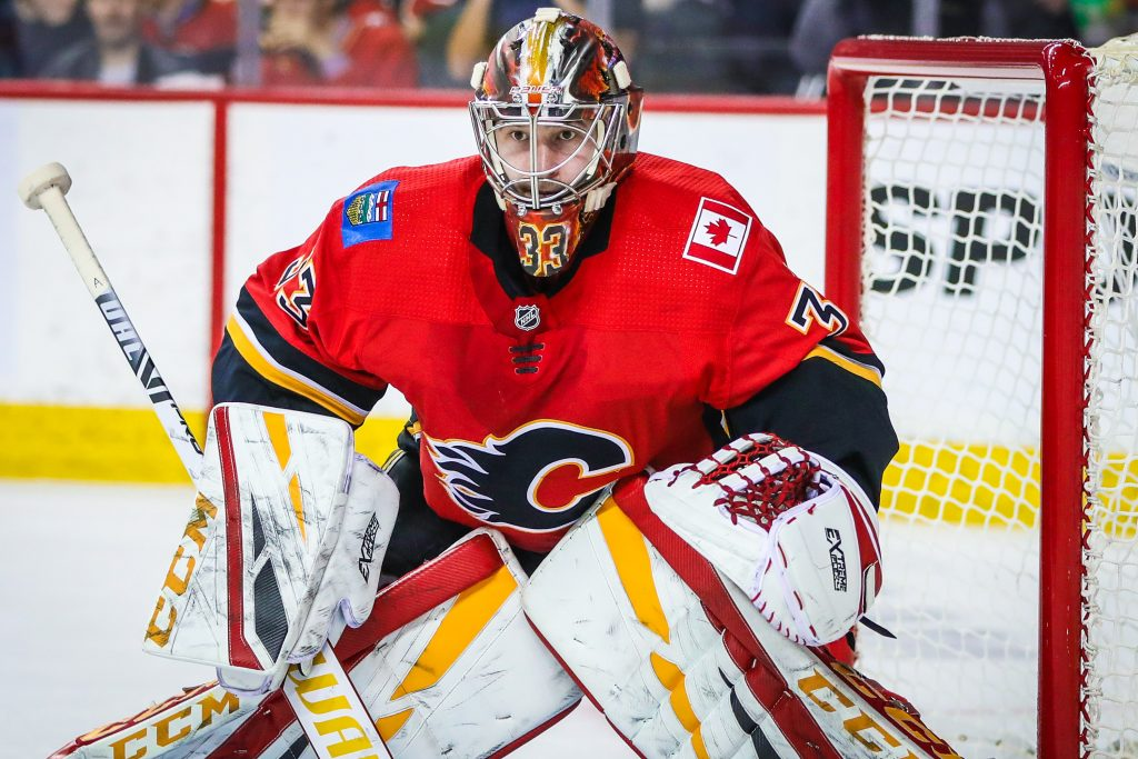 Calgary Flames Have Decision To Make In Net