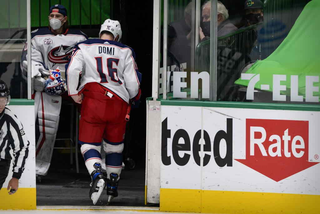 Maxi Domi To Be A Healthy Scratch For Blue Jackets
