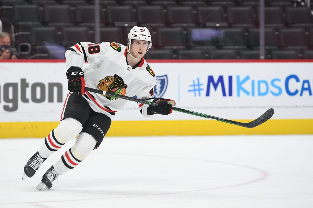 Wyatt Kalynuk Out A Few Weeks With Ankle Injury